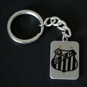 Chaveiro de Aço do Santos