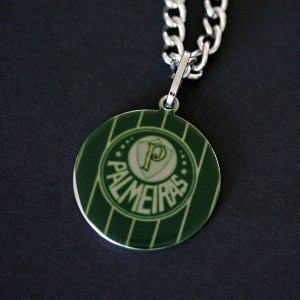 Necklace / Chain Stainless Steel with Pendant Palmeiras