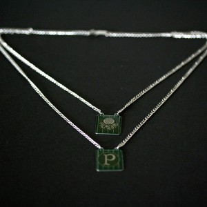 Necklace Double Steel Palmeiras